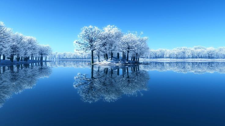 water_day_phase_clean_desktop_winter_scenery